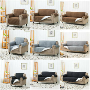 Tremendous Details About Quilted Sofa Arm Chair Settee Pet Protector Slip Cover Furniture Throws 3 Colour Download Free Architecture Designs Scobabritishbridgeorg