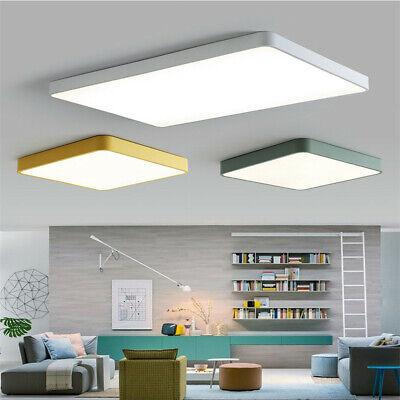 18W-84W Ultraslim LED Lampe Deckenlampe Deckenleuchte Quadrat Macarons Farbe