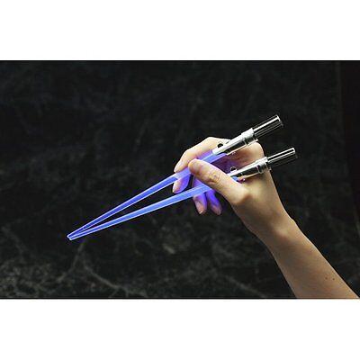 Star Wars Light Up LED Glow Food Eating Lightsaber Chopsticks Luke Skywalker 2