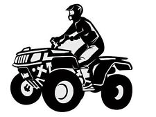 ATV Quad Boys Bedoom Kids Sports Wall Art Decal 36""
