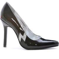Womens Size 9 Black W Lightening Bolt Jem Barbie 4 High Heels Shoes Pumps