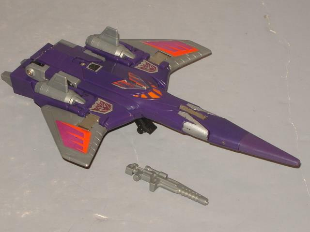 G1 TRANSFORMER DECEPTICON CYCLONUS COMPLETE LOT   3 CLEANED  LOTS OF PICS  NICE