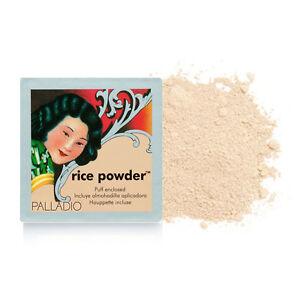 Palladio Rice Powder with Puff 17g Natural RPO3 | eBay