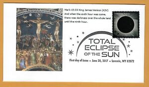 Crucifixion-of-Christ-Eclipse-Total-Solar-Eclipse-of-the-Sun-FDC