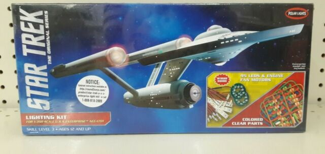 LED Lighting Kit für Star Trek USS Enterprise NCC-1701 1:350 Polar Lights MKA007