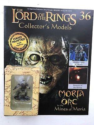 Magazine FöRderung Der Produktion Von KöRperflüSsigkeit Und Speichel Sinnvoll Lord Of The Rings Collection Issue 36 Moria Orc Eaglemoss Figure Film, Tv & Videospiele