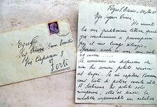 1945 BELLA LETTERA DOPOGUERRA A POZZO SANT'EVASIO SARTIRANA. TRENI E BICICLETTE!