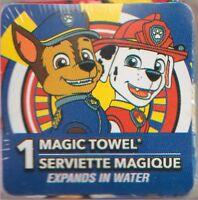 Paw Patrol Chase & Marshal Magic Towel(tm) 100% Cotton Cartoons