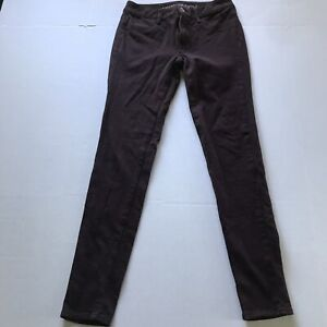 American Eagle Dark Red Maroon Ponte Jegging Skinny Pants Size 2 A901