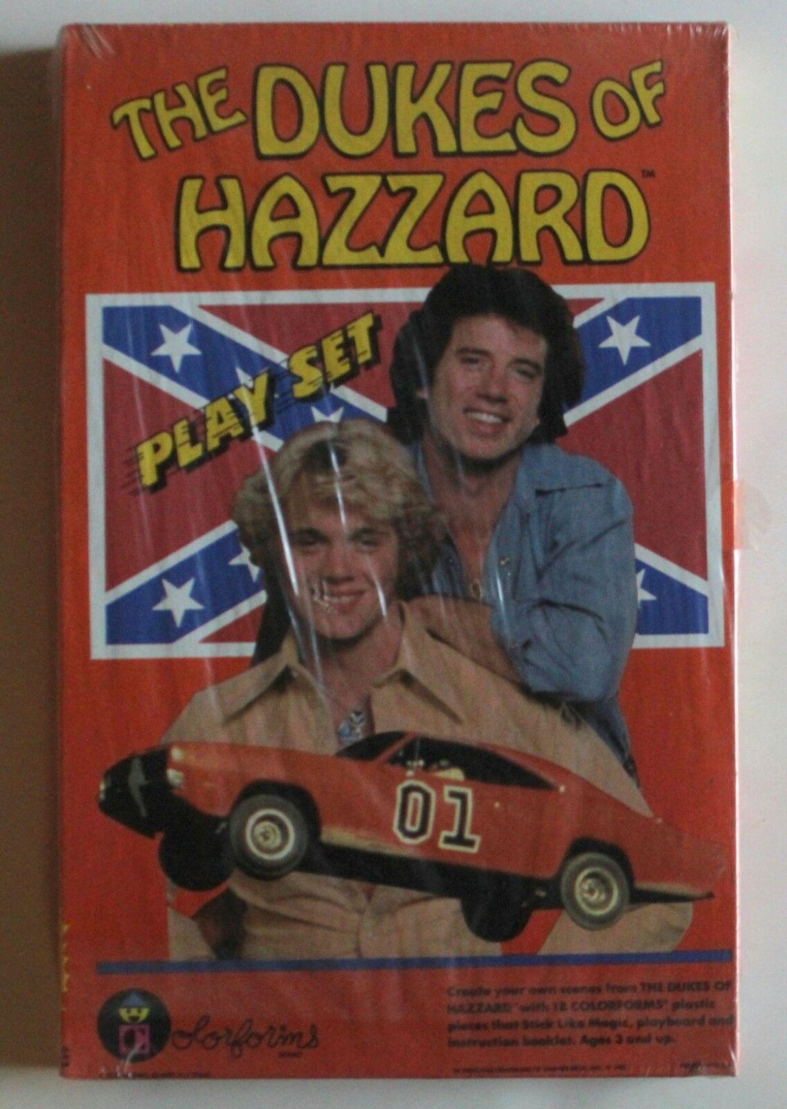 1981 Dukes of Hazzard Farbeforms Playset  652 MIB Sealed NOS
