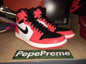 8e7f45b4735 Nike Air Jordan 1 Retro High Rare Air Max Orange   Black 332550 800 ...