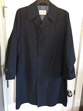 Saks Fifth Avenue Navy Trench coat - 42R