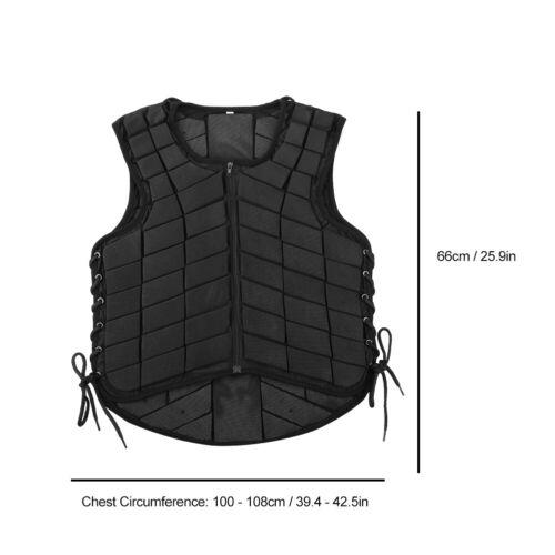 Erwachsene Reiten Zubehör Rückenprotektor Sicherheitsweste Schutzweste PP 05