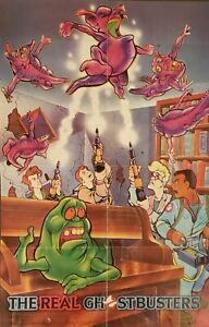 1986-Original-The-Real-Ghostbusters-Brand-Cereal-Poster-Super-Rare