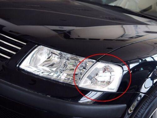 for VW Passat B5 1998-2001 Pair Front Corner Turn Signal Clear lamp Light
