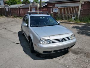 2001 Volkswagen Golf GLS