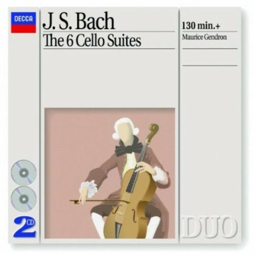 Maurice Gendron - 6 Cello Suites [New CD]