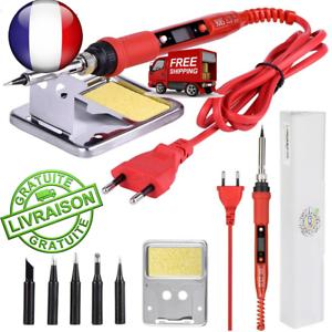 Kit-Electronique-Fer-a-Souder-Dessouder-soudure-Soudage-220V-60W
