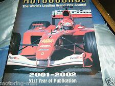 AUTOCOURSE 2001 2002 MICHAEL SCHUMACHER FERNANDO ALONSO RUBENS BARRICHELO F1 GP