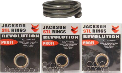 Jackson STL Revolution XXL Sprengringe für Kunstköder und Montagen Montageringe
