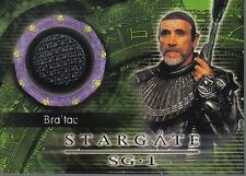 STARGATE SEASON FIVE COSTUME CARD C14 BRA'TAC