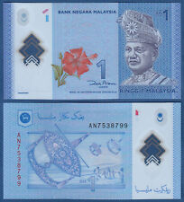MALAYSIA 1 Ringgit  (2012) Polymer  UNC  P. 51