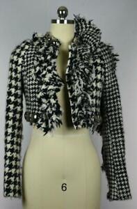 Gaetano-Navarra-Women-039-s-Vicuna-Tweed-Jacket-Size-40