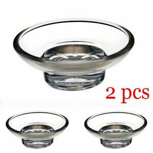 2Pcs-Acrylic-Soap-Dish-Replacement-Spare-for-Bathroom-Accessory-Holder-W8H