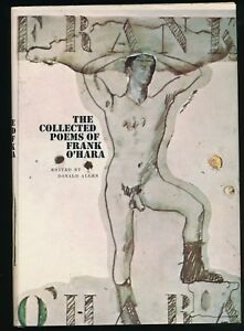 Details About Collected Poems Of Frank Ohara Lst Ed Lst State Wlarry Rivers Dj 1971 Nfnf