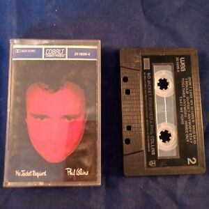 Cassette-tape-Phil-Collins-No-Jacket-Required
