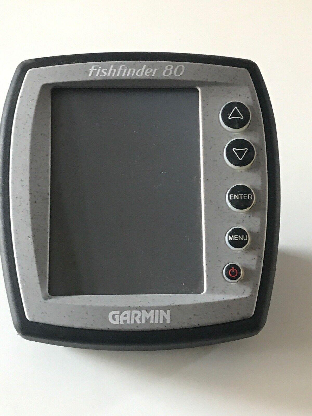 Sondeur portable garmin fishfinder 80