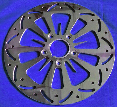TWISTED-VENOM-BRAKE-DISC-ROTORS-FRONT-HARLEY-ROAD-KING-FLHR-FLHRS-FLHRC-94-07