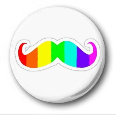 "- 1/"" // 25mm Button Badge LGBT Various Designs Novelty Pride Gay Lesbian Bi"