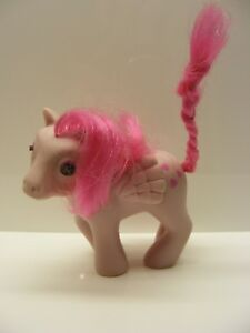 My Little Pony Mlp Vintage Pegasus G1 Ponies Beddy Bye Eyes Heart Throb 1986 Ebay