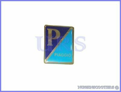 Vespa VNA VNB VBA VBB VBC VL1-5 nose horncast emblem badge decal P logo V8371