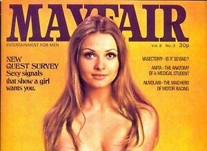 MAYFAIR Magazine. Volume 8, Number 3, 1973. VGC. Free UK Postage