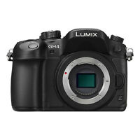 Panasonic Lumix DMC-GH4 16.5MP 4K Mirrorless Digital Camera Body (Black)