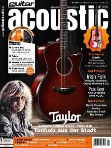 Peter Kent Acoustic Guitar Workshop David Coverdale Interview IN guitar acoustic