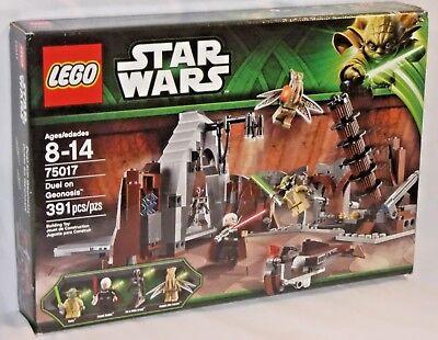 Lego Star Clone Wars 75017 DUEL ON GEONOSIS Yoda Count Dooku XMAS Present NEW