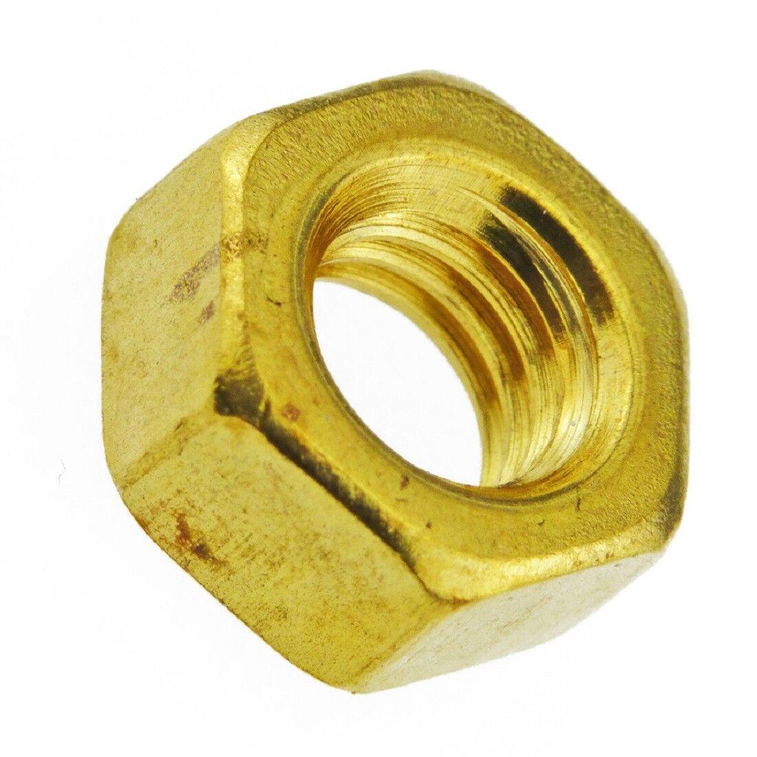 Sechskantmuttern Sechskant Muttern - DIN 934 - DIN EN ISO 4032 - Messing blank