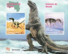 ANIMALS OF THE WORLD DINOSAUR REPUBLIQUE DE GUINEE 1998 MNH STAMP SHEETLET