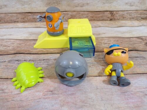 INCOMPLETE Fisher-Price Octonauts Kwazii /& The Octobot Station Play Set