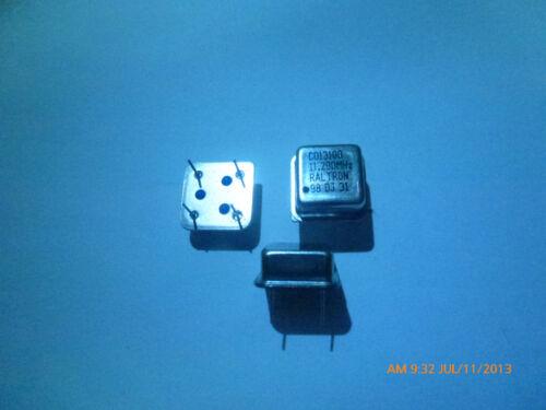 2 RALTRON 11.290Mhz  11.290M 11.29 MHZ crystal oscillator clock module IC 4 pin