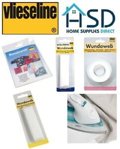 Forte-Ferro-Wundaweb-Orlatura-Wonderweb-Web-Orlo-Nessun-Tessuto-Cucito-Tape-20mm