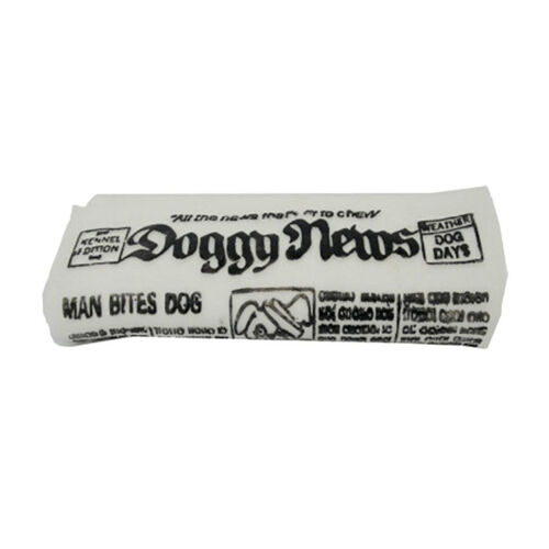 """/""""Must  Doogy  hot  Squeaky  have  Newspaper new  Toy/""""  Dogs//Puppy"""