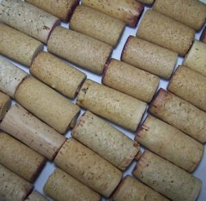 BLANK-Natural-USED-Wine-Corks-Plain-Lot-of-5-10-30-40-50-Recycled-Upcycled-Craft