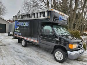 Ford e350 boite 12 pieds