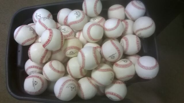Baseballs For Sale >> 10 Dozen Closeout Cosmetic Blem All Leather Game Baseballs Priced To