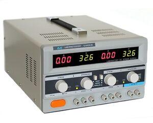 Doppel-Labornetzgeraet-0-30V-5A-Labornetzteil-Netzgeraet-Trafo-regelbares-Netzteil