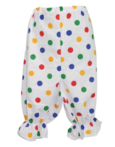Children in Need Polka Dot Panto Dame Bloomers CIN Fancy Dress Adults Size